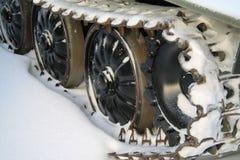 Tecniche del trattore a cingoli Fotografia Stock