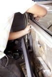 Tecnici automobilistici Fotografia Stock