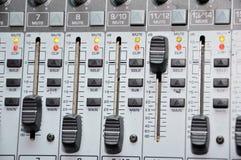 Tecnico del suono Immagine Stock
