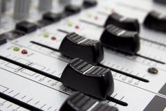 Tecnico del suono immagine stock libera da diritti