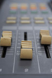 Tecnico del suono del dettaglio Immagini Stock Libere da Diritti