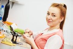 Tecnico prostetico di odontoiatria immagini stock