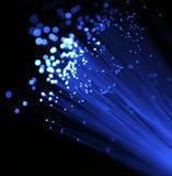 Tecnología óptica de fibra Imagen de archivo