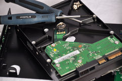 Tecnología 2 de la fijación Imágenes de archivo libres de regalías