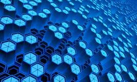 Tecnología abstracta stock de ilustración