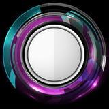 Tecnología abstracta Violet Background Fotografía de archivo libre de regalías