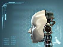 Tecnología androide Imágenes de archivo libres de regalías