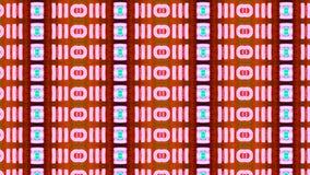 Tecnología cada vez mayor de las células del fondo abstracto nueva almacen de metraje de vídeo