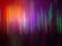 Tecnología colorida Sci de Aurora Light Motion Effect Music del arco iris Imagenes de archivo