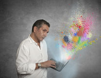 Tecnología creativa Fotos de archivo libres de regalías