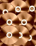 Tecnología de cobre Fotos de archivo libres de regalías