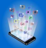 Tecnología de comunicación Foto de archivo libre de regalías
