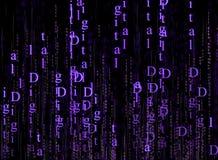 Tecnología de Digitaces Foto de archivo libre de regalías