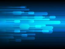 Tecnología de diseño del vector, fondo de la velocidad Foto de archivo libre de regalías