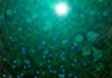 Tecnología de fibra óptica Imagen de archivo