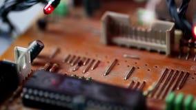 Tecnología de hardware electrónica de la placa madre