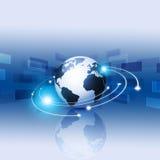 Tecnología de Internet de Digitaces Imágenes de archivo libres de regalías