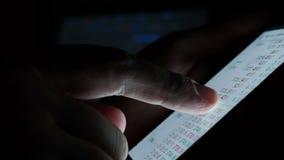 Tecnología de Internet para el comercio en línea almacen de metraje de vídeo