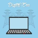 Tecnología de la era de Digitaces Foto de archivo