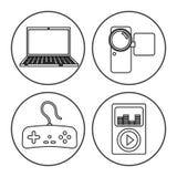 Tecnología de la era de Digitaces Foto de archivo libre de regalías