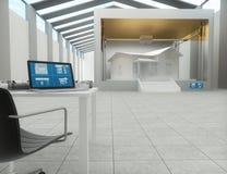 tecnología de la impresión 3d, casa de impresión Fotos de archivo libres de regalías