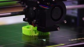 tecnología de la impresión de la impresora 3d almacen de metraje de vídeo