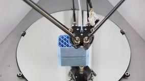 tecnología de la impresión de la impresora 3d almacen de video