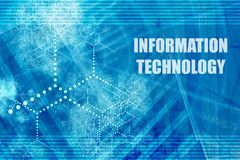 Tecnología de la información Foto de archivo libre de regalías