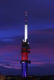 Tecnología de la torre Foto de archivo libre de regalías