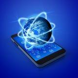 Tecnología de los teléfonos móviles Foto de archivo
