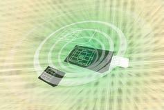 Tecnología de NFC Imagen de archivo