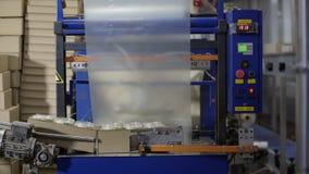 Tecnología de producción alimentaria Línea del acondicionamiento de los alimentos en la fábrica de la lechería Planta de comida P metrajes