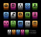 Tecnología de red del negocio libre illustration