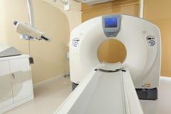 Tecnología del avance de la exploración del CT para el diagnóstico médico Imagen de archivo libre de regalías