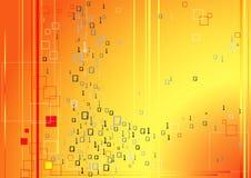Tecnología del código binario de Digitaces Fotos de archivo libres de regalías