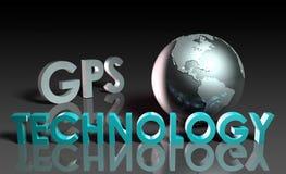 Tecnología del GPS stock de ilustración