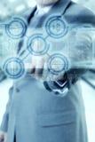 Tecnología del hombre de negocios Imagen de archivo