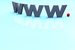 Tecnología del Internet Foto de archivo