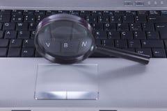 Tecnología del Search Engine Foto de archivo