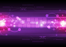 Tecnología digital abstracta stock de ilustración