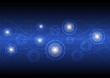 Tecnología digital futura del concepto Imagen de archivo libre de regalías