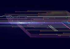 Tecnología electrónica del hardware diseño de la plantilla Imagen de archivo