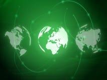 Tecnología-estilo de la correspondencia de mundo