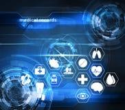 Tecnología futurista de la atención sanitaria libre illustration
