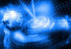 Tecnología global de Internet ilustración del vector
