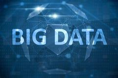 Tecnología grande de los datos Stock de ilustración