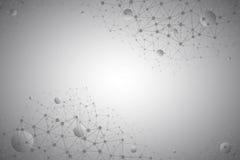 tecnología Gray Background del vector del extracto 3d ilustración del vector