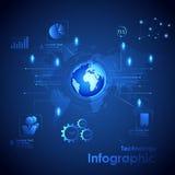 Tecnología Infographic Fotografía de archivo