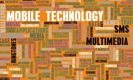 Tecnología móvil ilustración del vector