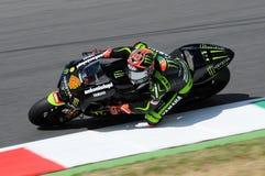 TECNOLOGÍA 3 MotoGP 2012 de Andrea Dovizioso YAMAHA Imágenes de archivo libres de regalías